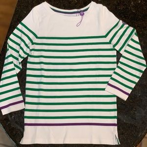 Wimbledon 3/4 sleeve sweater